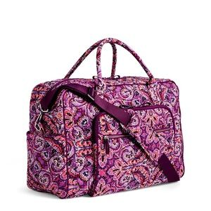 Vera Bradley Dream Tapestry Iconic Weekender Bag